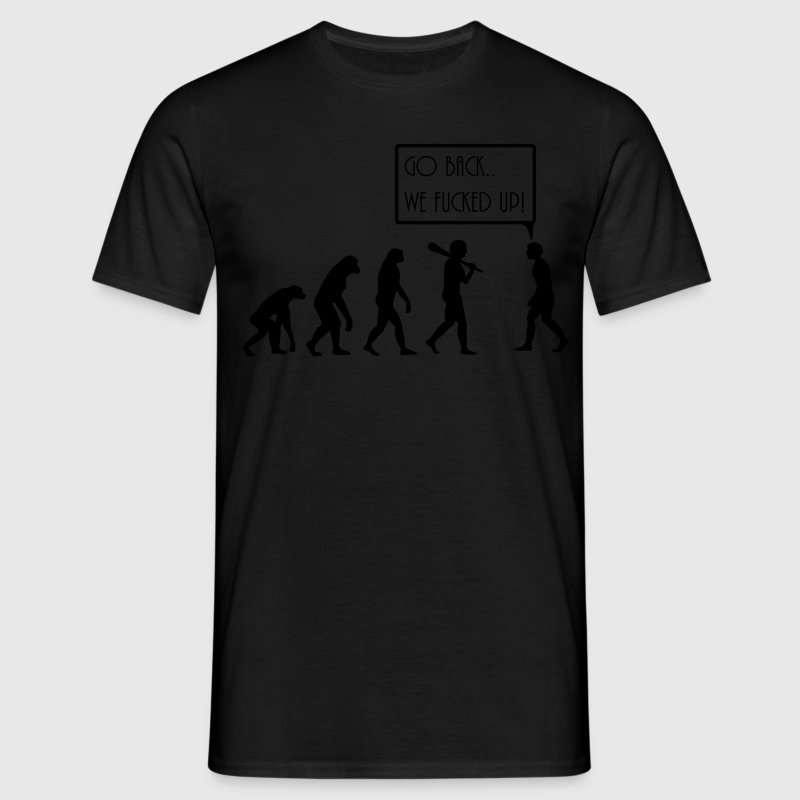 evolution T-shirts - T-shirt herr