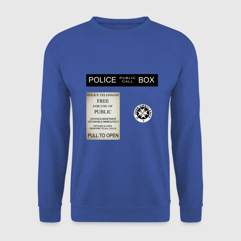 Doctor Who Tardis Police Box - Sweat-shirt Homme