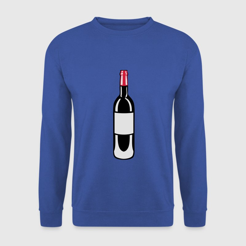 bouteille vin pinard rouge bottle 27 Sweat-shirts - Sweat-shirt Homme