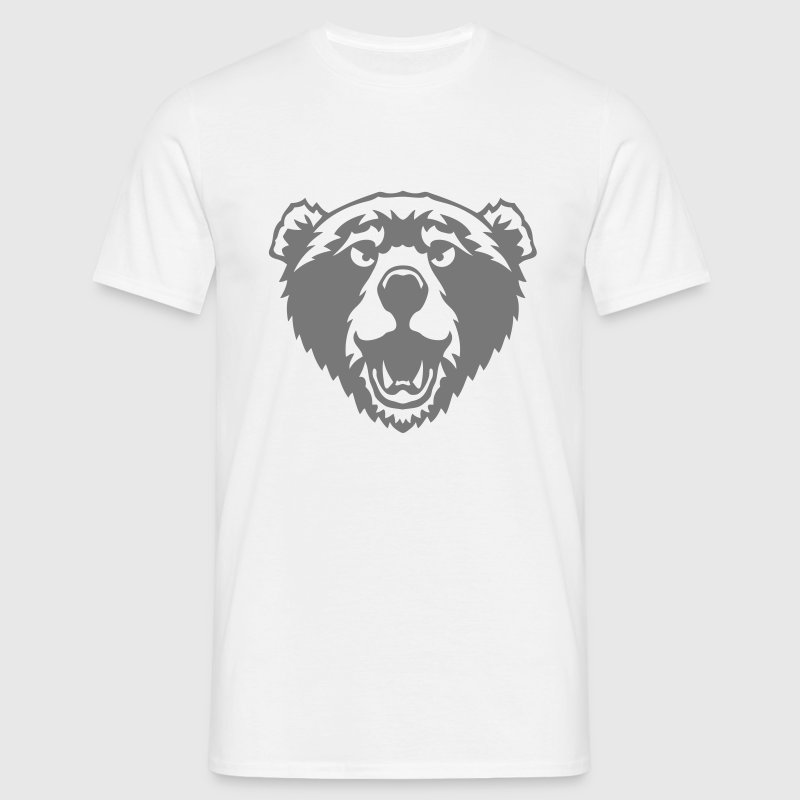 ours bear animal sauvage dessin 2706 Tee shirts - T-shirt Homme