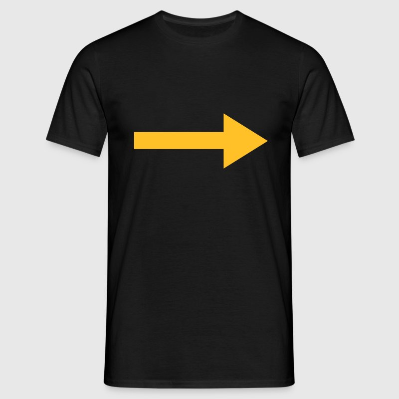 Right Arrow T-Shirts - Men's T-Shirt