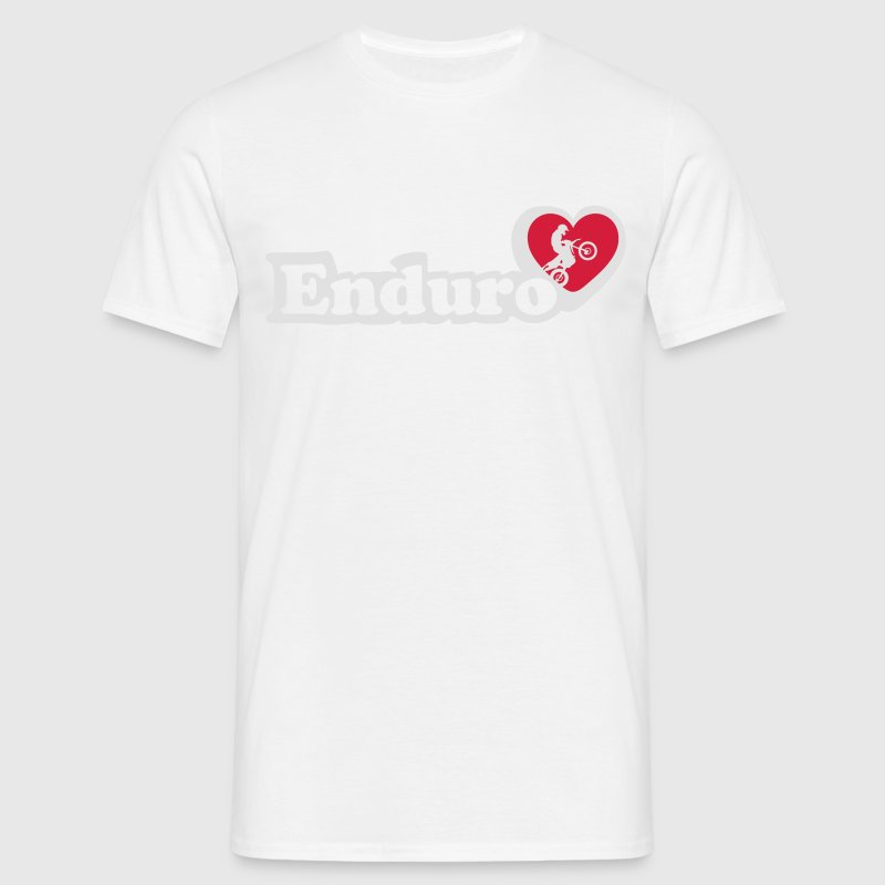 I love Enduro  T-Shirts - Men's T-Shirt