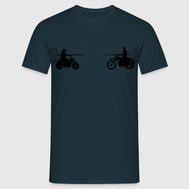 Bud vs. Terence on Bike Camisetas - Camiseta hombre