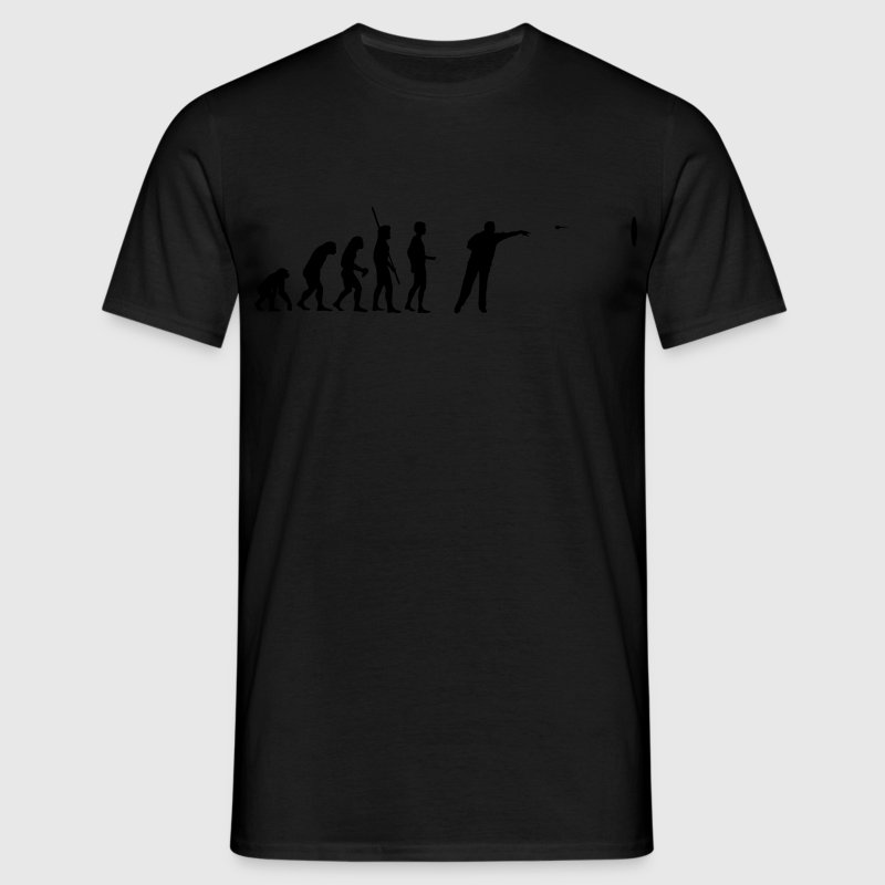Darts Evolutie T-shirts - Mannen T-shirt
