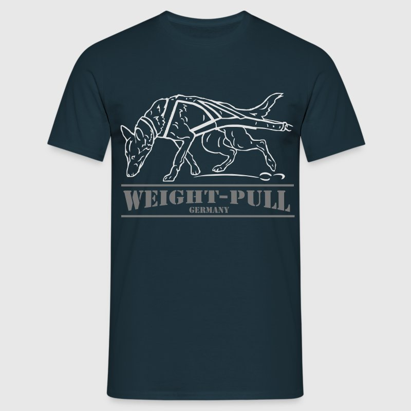 Weight-Pull Germany T-Shirts - Männer T-Shirt
