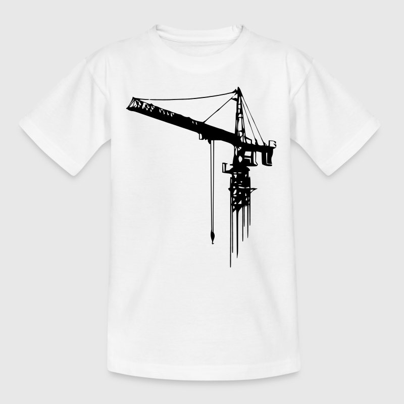Kids T-Shirt: tower crane - Kids' T-Shirt