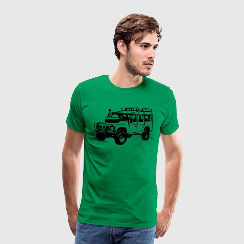 T-shirt: Land Rover Defender, Jeep, SUV - Men's Premium T-Shirt