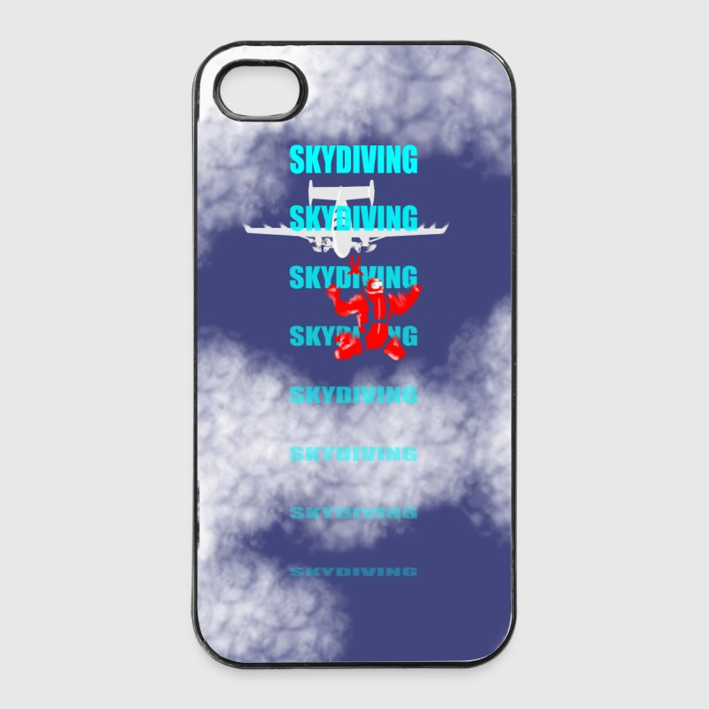 skydiving Smartphone/Tabletcover Handy & Tablet Hüllen - iPhone 4/4s Hard Case