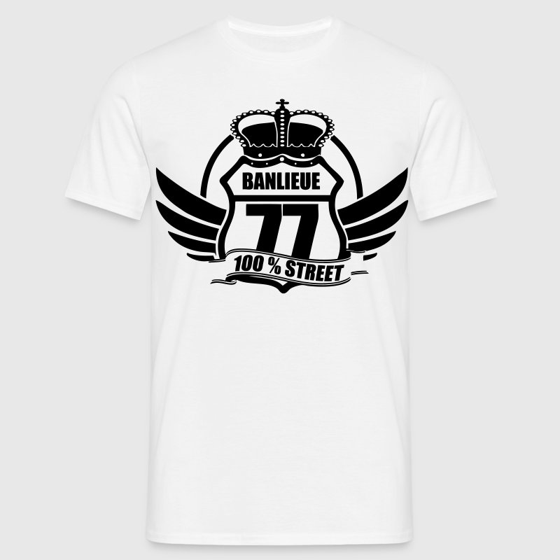 BANLIEUE 77 Tee shirts - T-shirt Homme