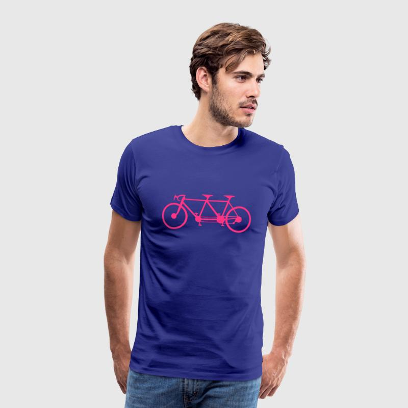 tandem velo bicyclette 3 Tee shirts - T-shirt Premium Homme