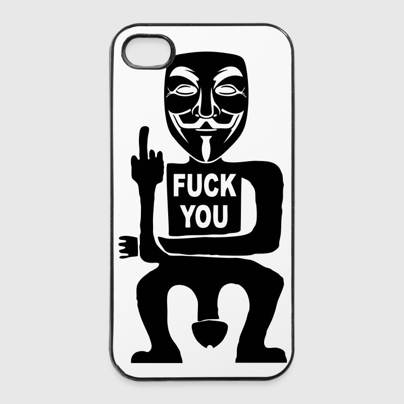 fuck you Phone & Tablet Cases - iPhone 4/4s Hard Case