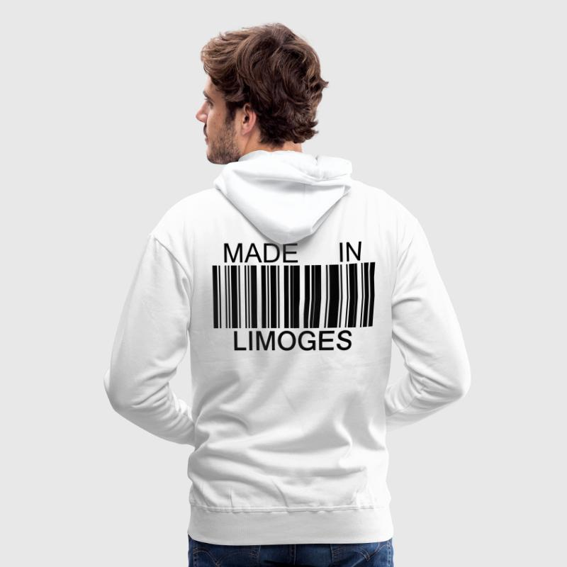 Sweat-shirt Made in Limoges - Sweat-shirt à capuche Premium pour hommes