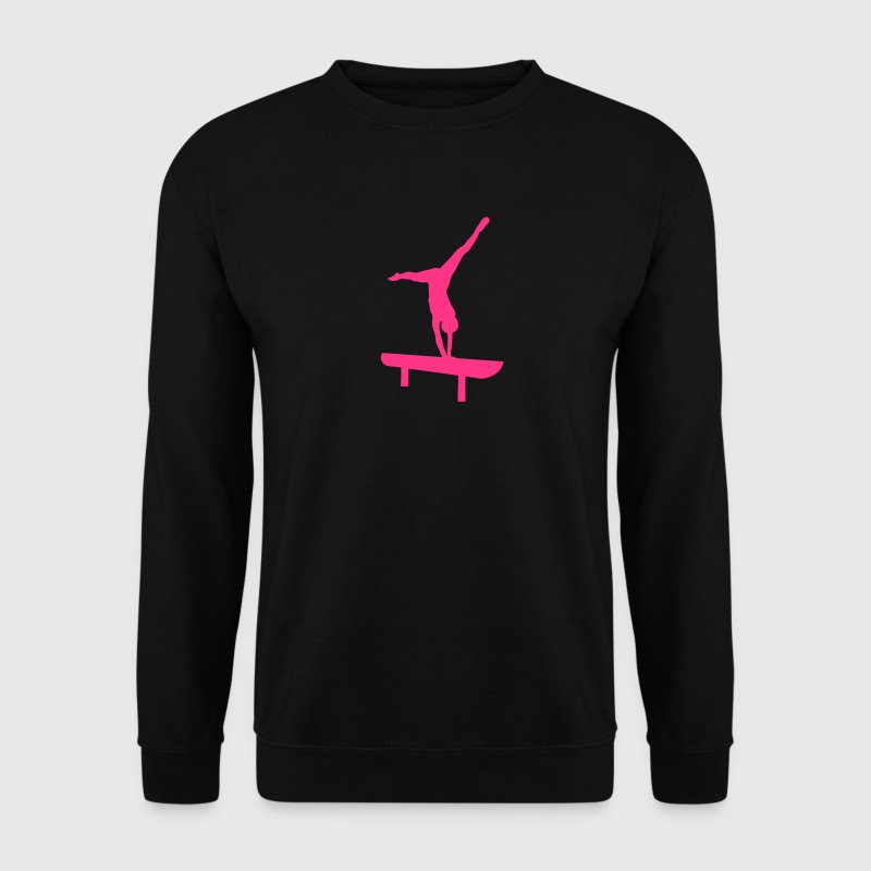 poutre gymnastique silhouette 1 Sweat-shirts - Sweat-shirt Homme