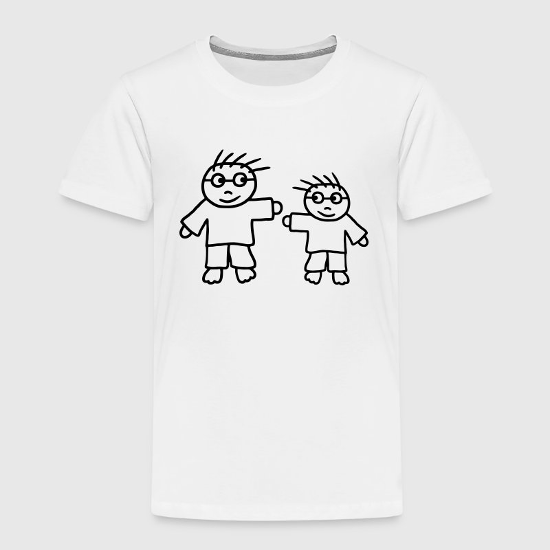 Big Brother - Little Brother - Kids' Premium T-Shirt