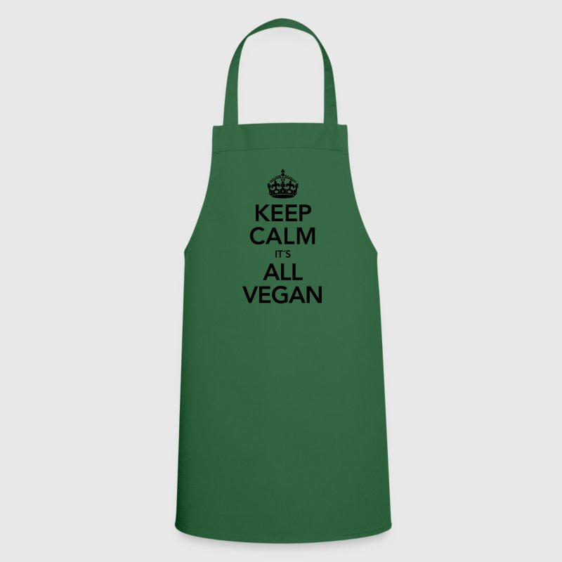 Keep Calm It´s All Vegan  Aprons - Cooking Apron
