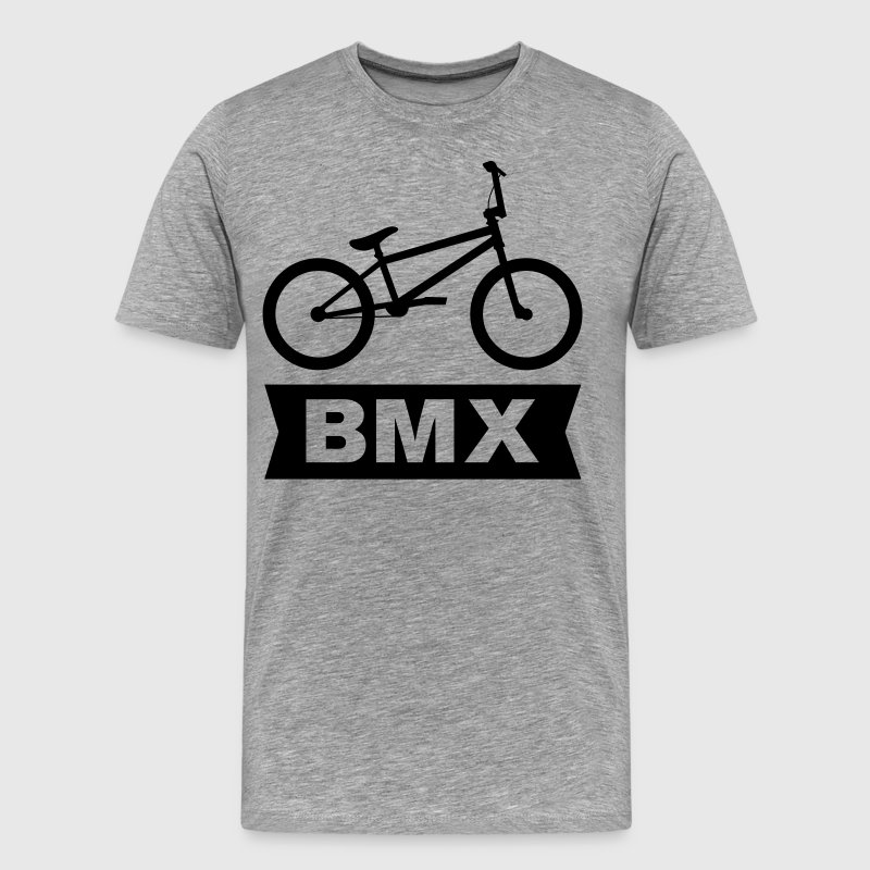 BMX Cross Bike T-Shirts - Men's Premium T-Shirt