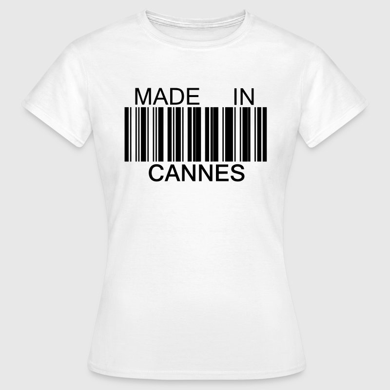 Made in Cannes 06 Tee shirts - T-shirt Femme