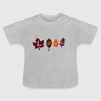 fall_leaves_color Accessoires - Baby T-shirt