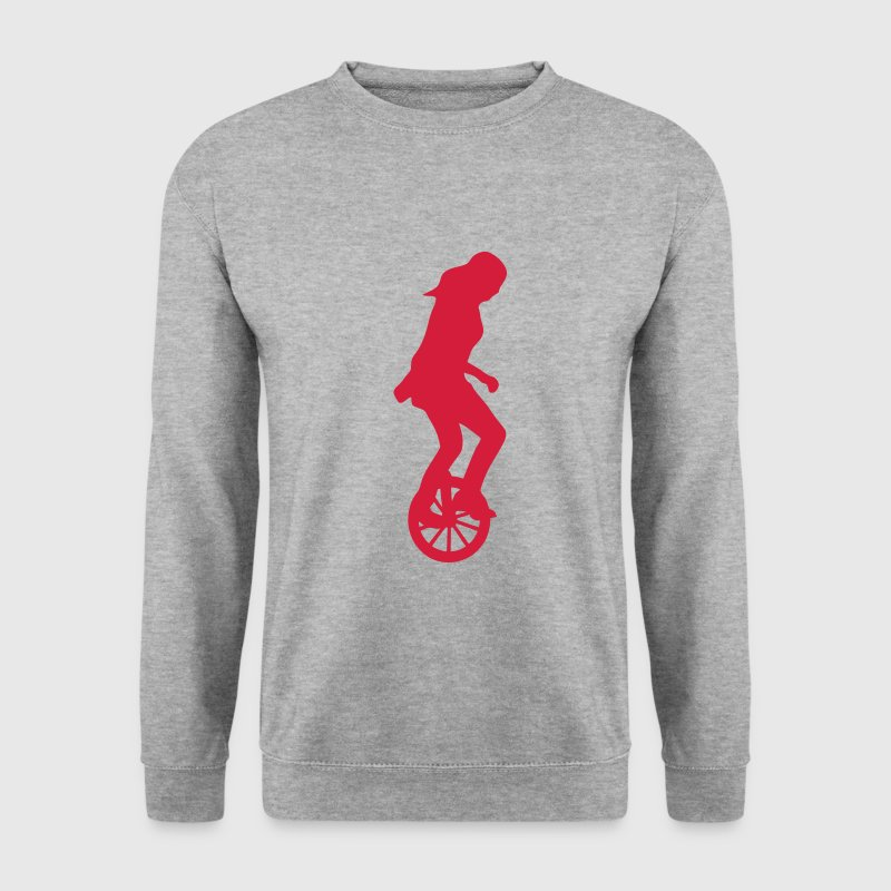 monocycle cirque 1 Sweat-shirts - Sweat-shirt Homme