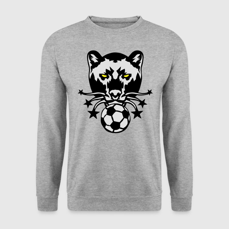 panthere foot logo football soccer sport Sweat-shirts - Sweat-shirt Homme