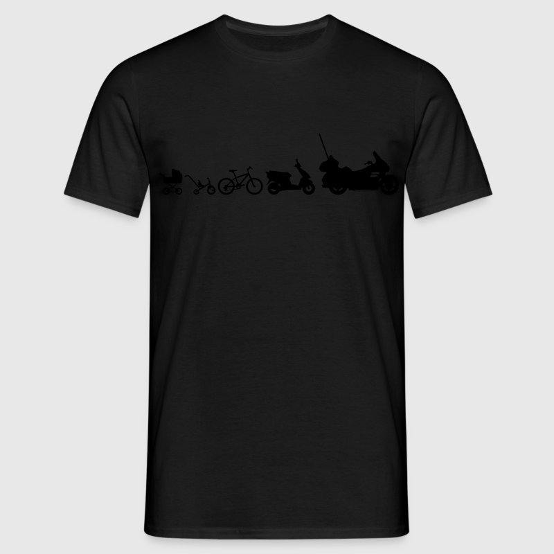 Evolution Goldwing motorcycle  T-Shirts - Men's T-Shirt