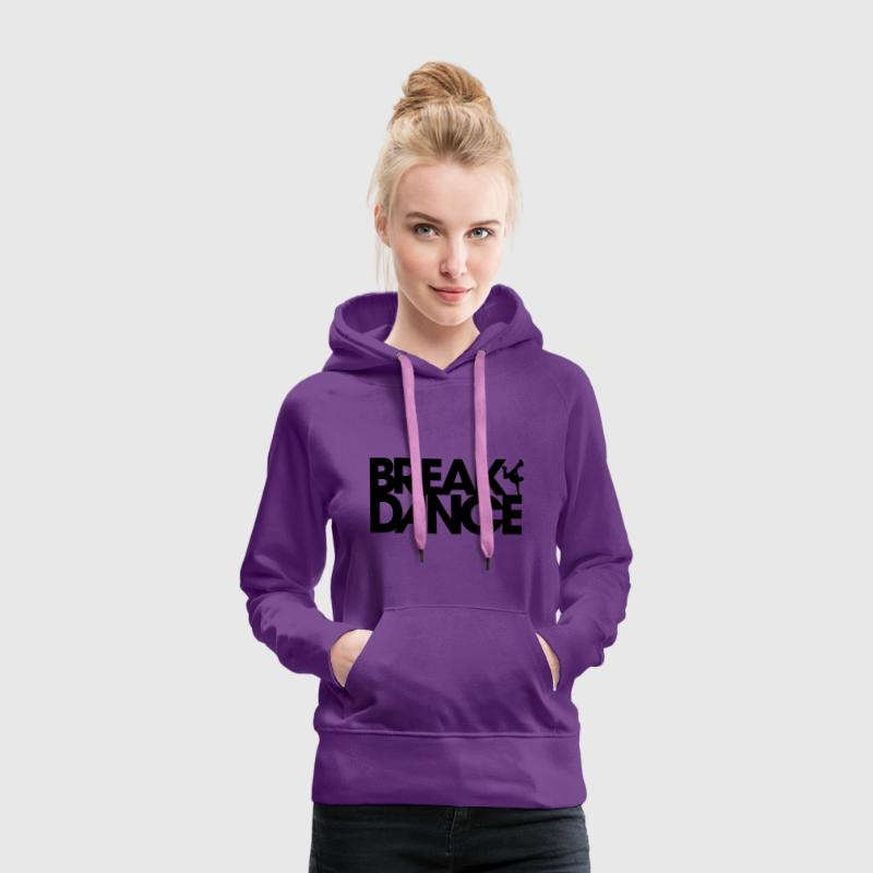 Breakdance Sweat-shirts - Sweat-shirt à capuche Premium pour femmes