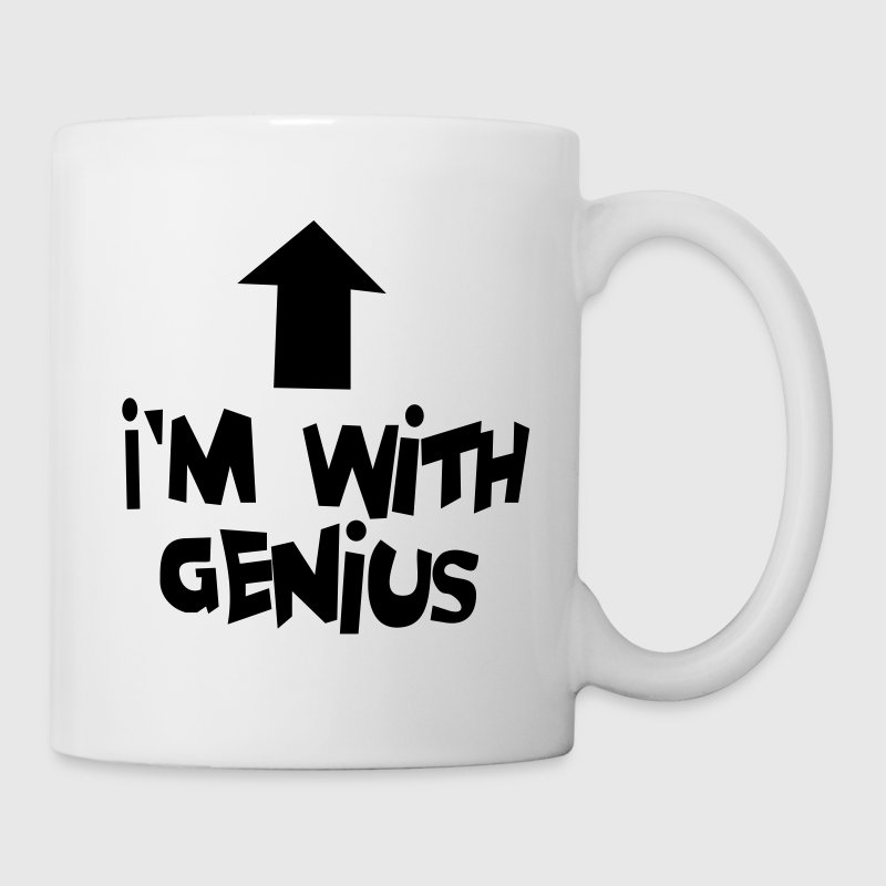 I'm with genius Bottles & Mugs - Mug