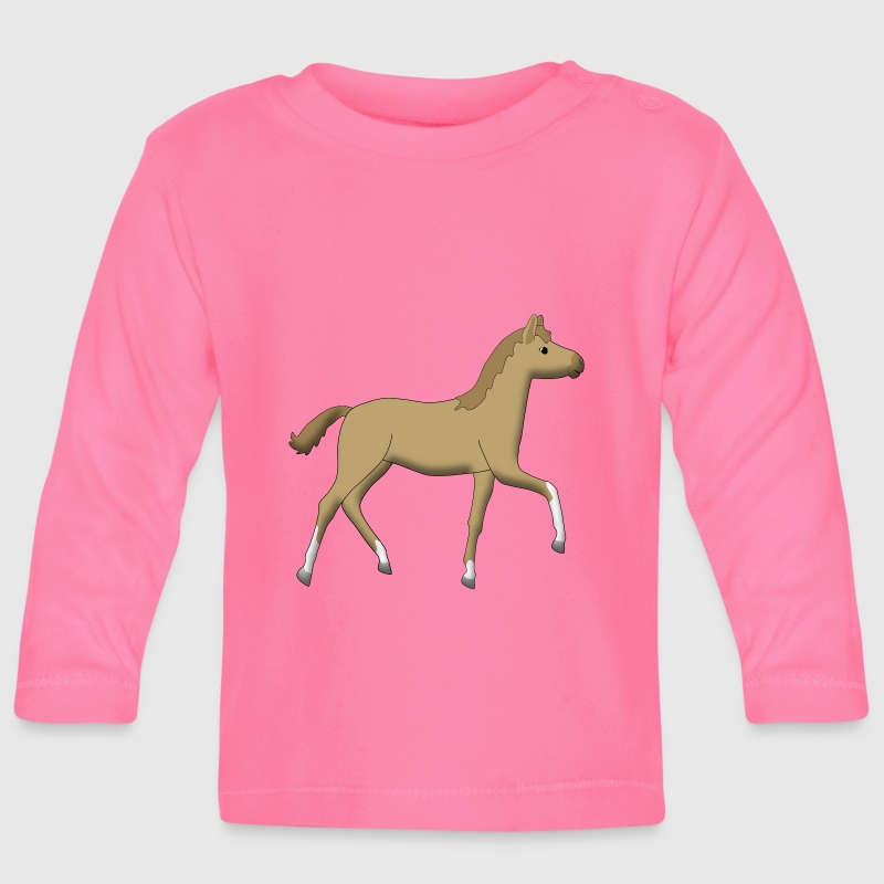 foal Kids & Babies - Baby Long Sleeve T-Shirt