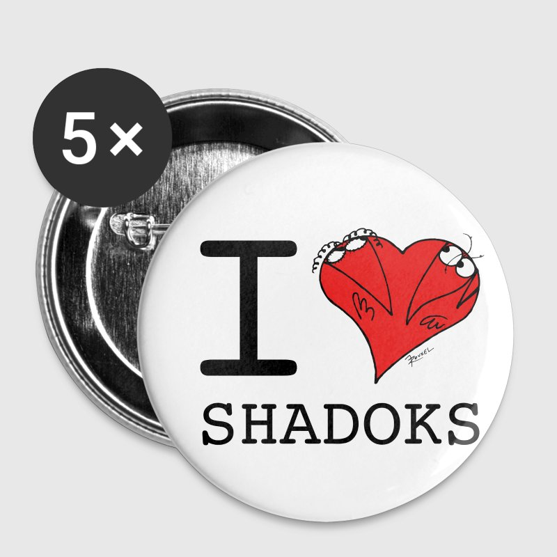 I Love Shadoks - Buttons large 56 mm