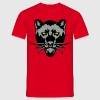 panthere noir dessin animal sauvage logo Tee shirts - T-shirt Homme