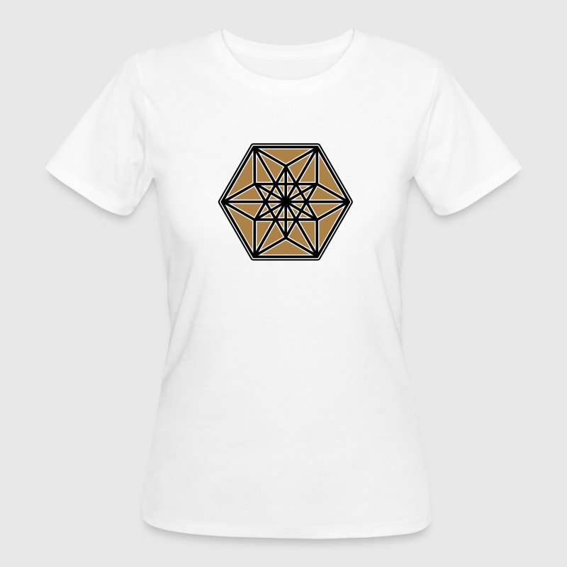 Cuboctahedron, structure of the universe, Fuller T-Shirts - Women's Organic T-shirt