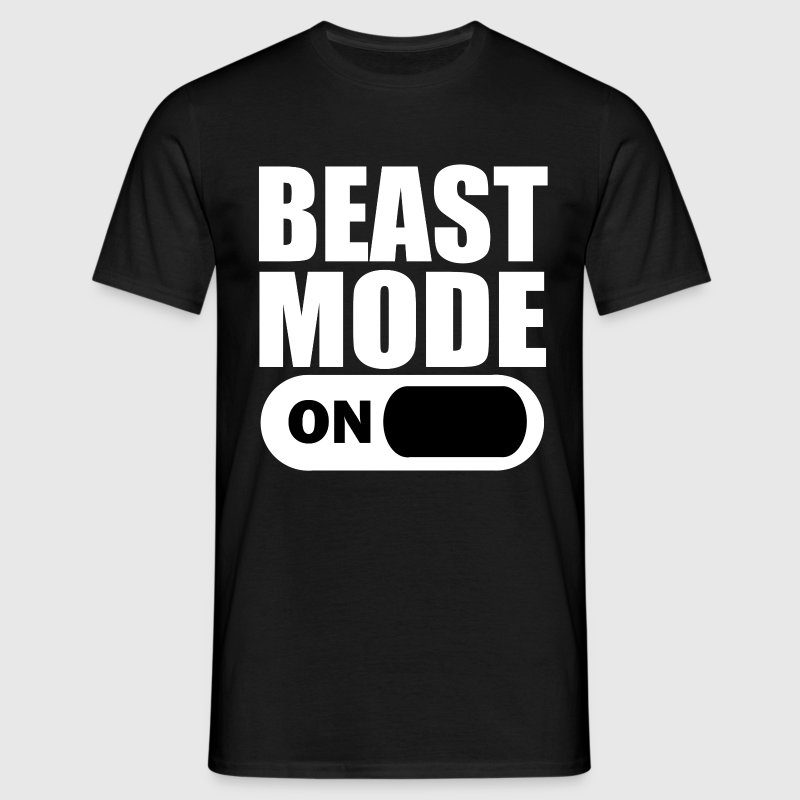 Beast mode on t shirt spreadshirt for Design your own t shirt uk cheap