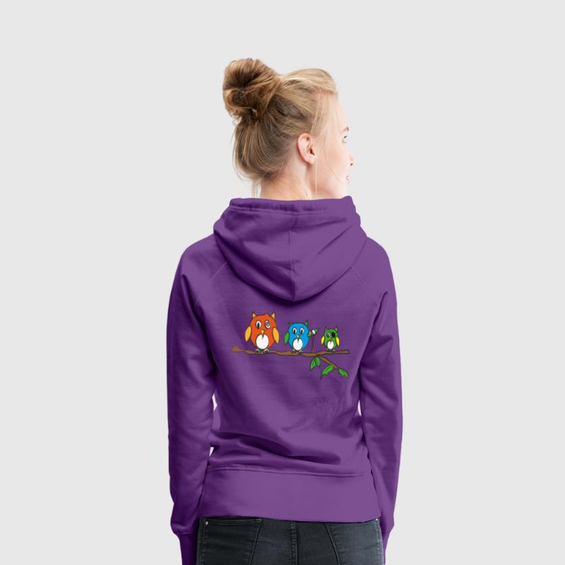 Night Flight Crew Hoodies & Sweatshirts - Women's Premium Hoodie