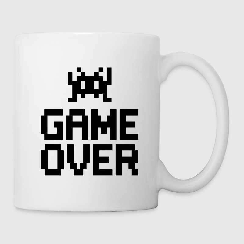 game over with sprite Botellas y tazas - Taza