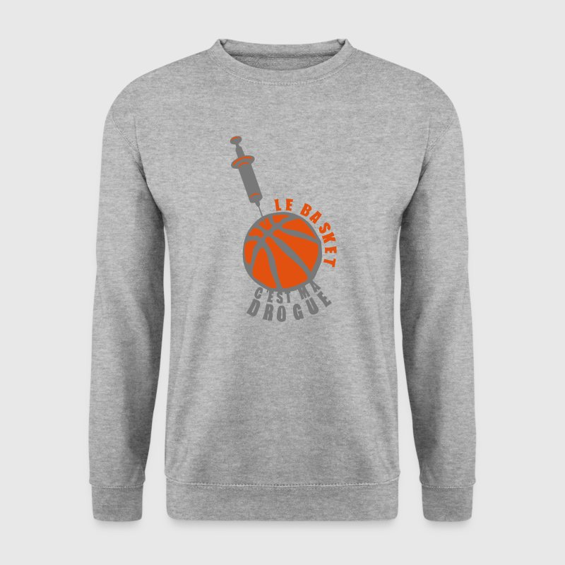 basketball drogue seringue basket 2 Sweat-shirts - Sweat-shirt Homme