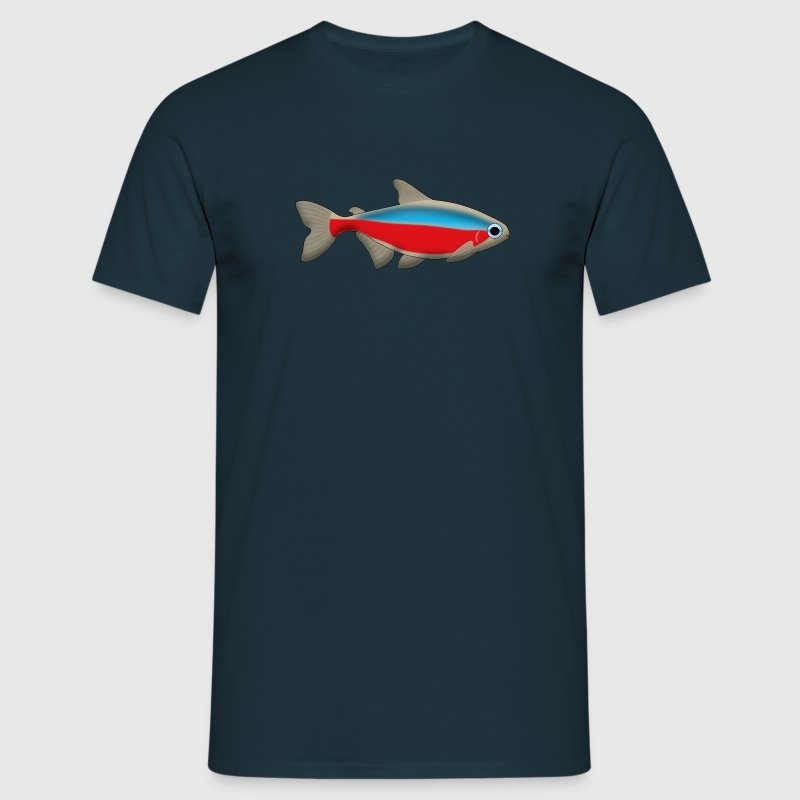 Neon fish T-Shirts - Men's T-Shirt