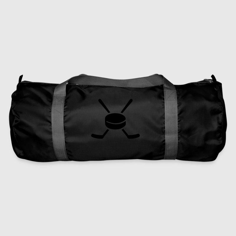 eishockey tasche spreadshirt. Black Bedroom Furniture Sets. Home Design Ideas