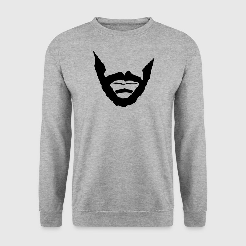 barbe beard barbiche bouc 0 Sweat-shirts - Sweat-shirt Homme