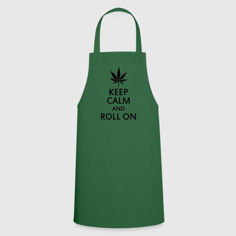keep calm and roll on  Aprons - Cooking Apron