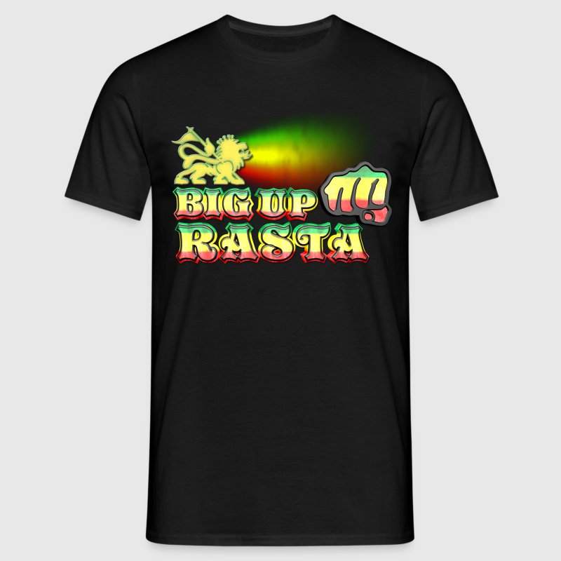 big up rasta T-Shirts - Men's T-Shirt