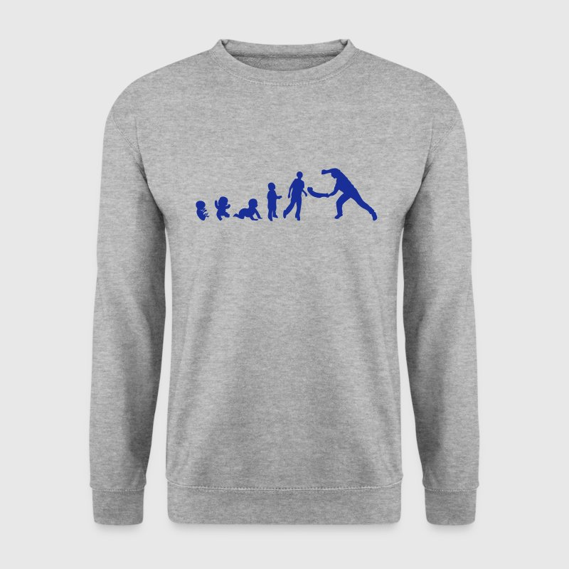 evolution pelote basque bebe adulte Sweat-shirts - Sweat-shirt Homme