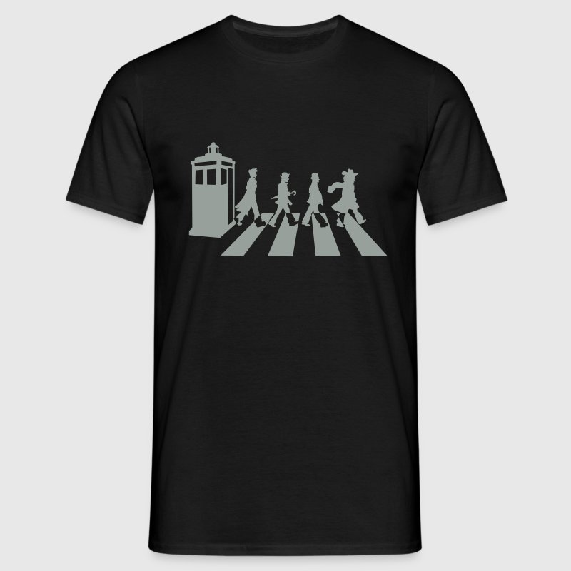 Black Dr Who? T-Shirts - Men's T-Shirt