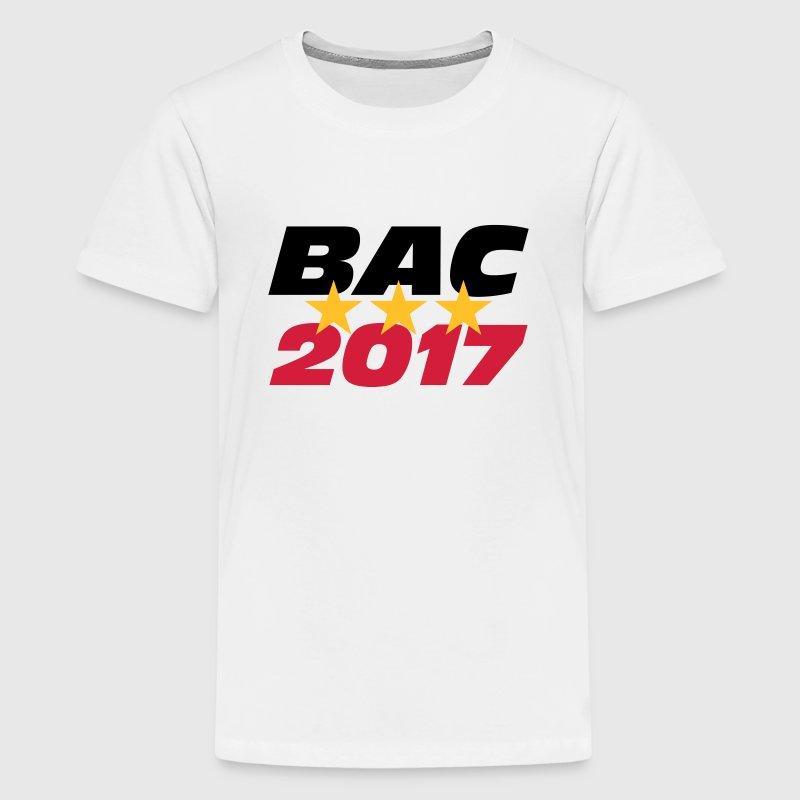 BAC 2017 - Teenage Premium T-Shirt