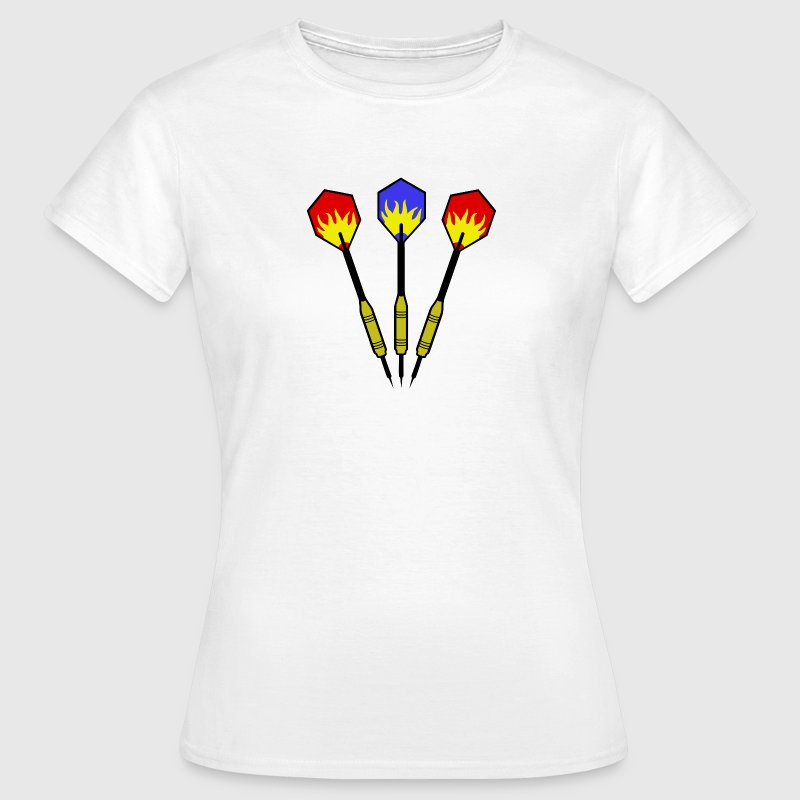 3 darts - Flame T-Shirts - Women's T-Shirt