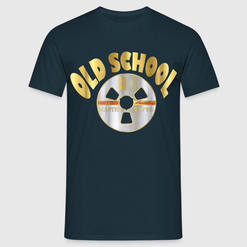 old school gold T-Shirts - Men's T-Shirt