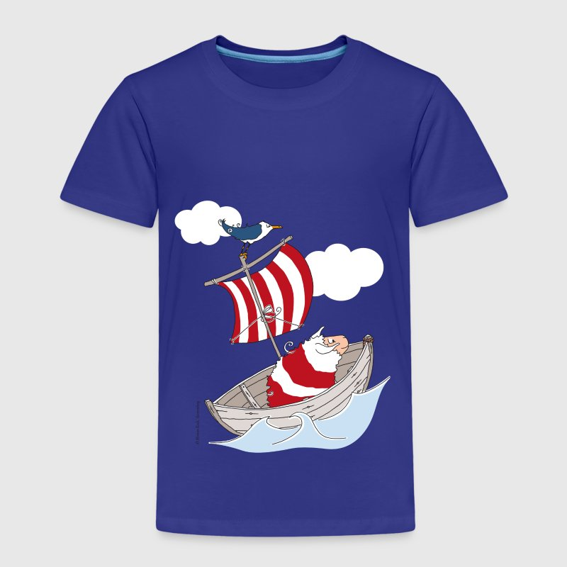 Fiete Anders im Boot - Kinder Premium T-Shirt