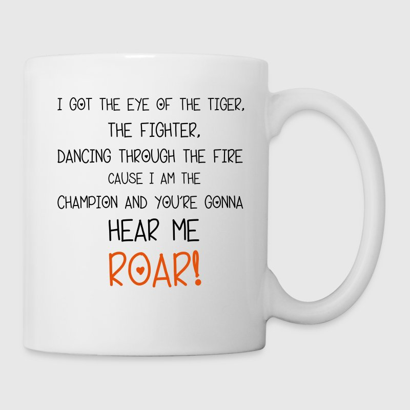 Eye Of The Tiger Botellas y tazas - Taza