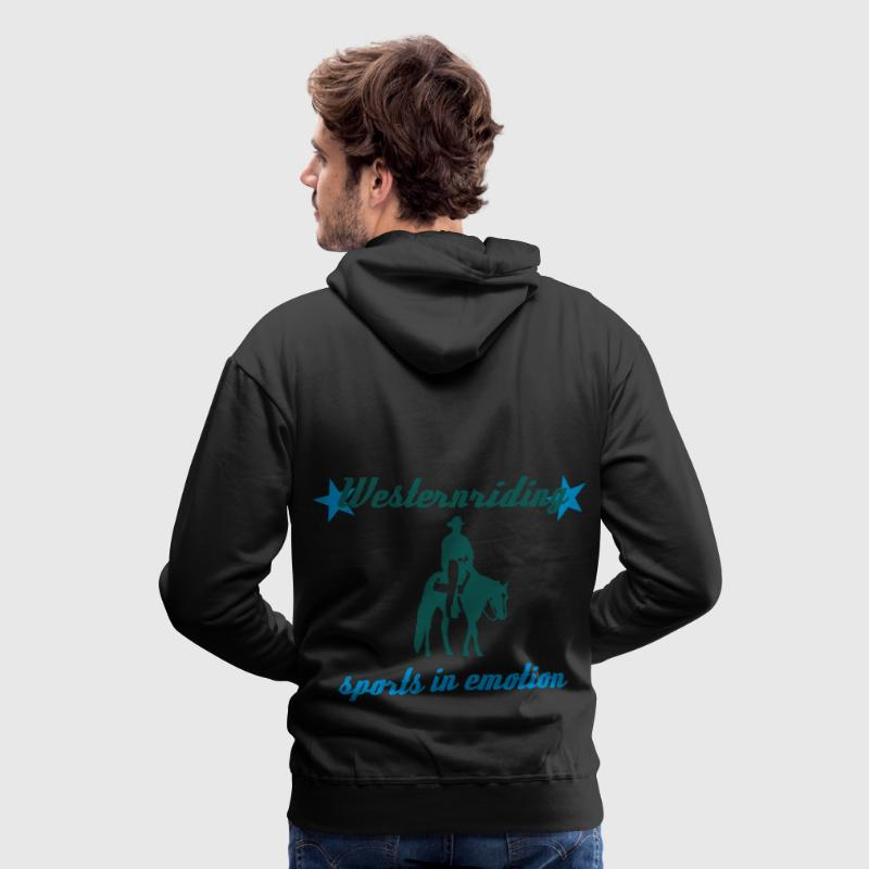 Westernreiten Sports in Emotion Pullover & Hoodies - Männer Premium Hoodie
