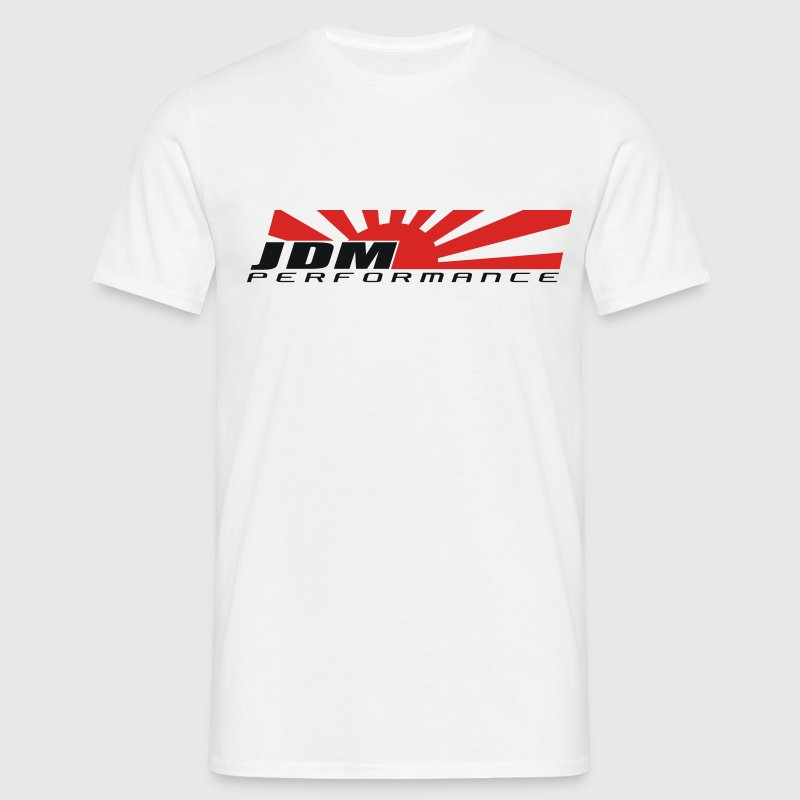 JDM PERFORMANCE Japan Rising Sun  - Männer T-Shirt