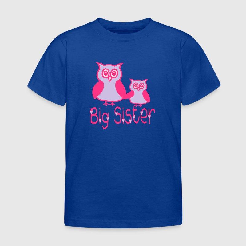 eule big sister t shirt spreadshirt. Black Bedroom Furniture Sets. Home Design Ideas